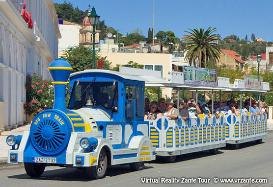 Zante tourist train